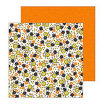 Pebbles - Spooky Boo Collection - Halloween - 12 x 12 Double Sided Paper - Hocus Pocus