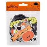 Pebbles - Spooky Boo Collection - Halloween - Ephemera with Foil Accents