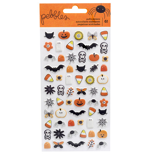 Pebbles - Spooky Boo Collection - Halloween - Puffy Stickers