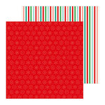 Pebbles - Cozy and Bright Collection - Christmas - 12 x 12 Double Sided Paper - Merry and Bright