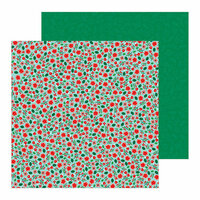 Pebbles - Cozy and Bright Collection - Christmas - 12 x 12 Double Sided Paper - Christmas Magic
