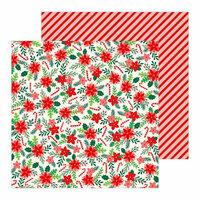Pebbles - Cozy and Bright Collection - Christmas - 12 x 12 Double Sided Paper - Fa La La La
