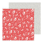 Pebbles - Cozy and Bright Collection - Christmas - 12 x 12 Double Sided Paper - Warm and Cozy