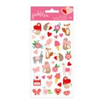 Pebbles - Loves Me Collection - Puffy Stickers - Icons