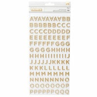 Jen Hadfield - Along The Way Collection - Thickers - Foam - Alpha - Gold Foil