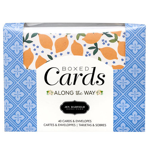 Pebbles - Along The Way Collection - Boxed Cards