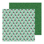 Pebbles - Along The Way Collection - 12 x 12 Double Sided Paper - Home Sweet Home