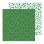 Pebbles - Along The Way Collection - 12 x 12 Double Sided Paper - Parkway