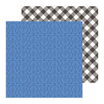 Pebbles - Along The Way Collection - 12 x 12 Double Sided Paper - Picnic Basket