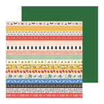 Pebbles - Along The Way Collection - 12 x 12 Double Sided Paper - Stepping Stones