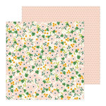 Pebbles - Along The Way Collection - 12 x 12 Double Sided Paper - Window Box