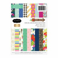 Pebbles - Chasing Adventure Collection - 6 x 8 Paper Pad with Foil Accents