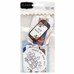 Pebbles - Chasing Adventure Collection - Ephemera with Foil Accents - Phrases
