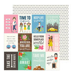 Pebbles - Chasing Adventure Collection - 12 x 12 Double Sided Paper - Adventure