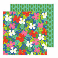 Pebbles - Chasing Adventure Collection - 12 x 12 Double Sided Paper - Aloha