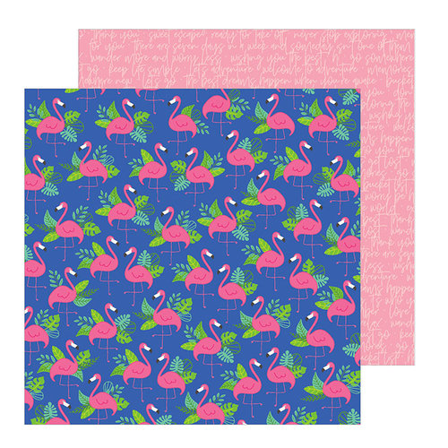 Pebbles - Chasing Adventure Collection - 12 x 12 Double Sided Paper - Paradise