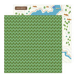 Pebbles - Chasing Adventure Collection - 12 x 12 Double Sided Paper - Backwoods