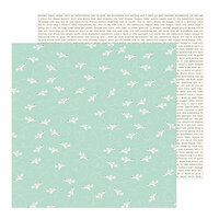 Pebbles - Chasing Adventure Collection - 12 x 12 Double Sided Paper - Take Off