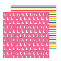 Pebbles - Chasing Adventure Collection - 12 x 12 Double Sided Paper - No Drama Llama