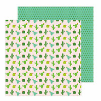 Pebbles - Chasing Adventure Collection - 12 x 12 Double Sided Paper - Wanderlust