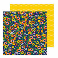 Pebbles - Chasing Adventure Collection - 12 x 12 Double Sided Paper - Savanna