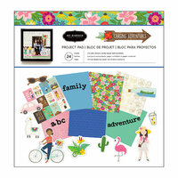 Pebbles - Chasing Adventure Collection - 12 x 12 Project Pad