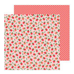 Pebbles - Oh Summertime Collection - 12 x 12 Double Sided Paper - Fresh Picked