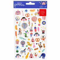 Pebbles - Big Top Dreams Collection - Mini Sticker Book with Foil Accents