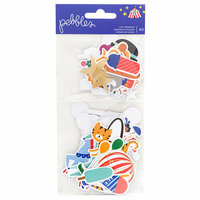 Pebbles - Big Top Dreams Collection - Ephemera with Foil Accents - Icons