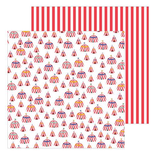 Pebbles - Big Top Dreams Collection - 12 x 12 Double Sided Paper - Big Top Dreams