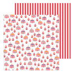 Pebbles - Big Top Dreams Collection - 12 x 12 Double Sided Paper - Big Top Dreams