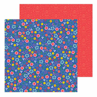 Pebbles - Big Top Dreams Collection - 12 x 12 Double Sided Paper - Confetti