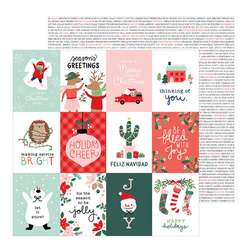 When Is Little Christmas.Pebbles Merry Little Christmas Collection 12 X 12 Double Sided Paper Holiday Cheer