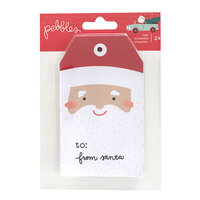 Pebbles - Merry Little Christmas Collection - Tag Pad
