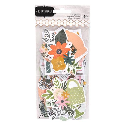 Pebbles - This Is Family Collection - Embellishments - Icon Ephemera