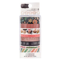 Pebbles - This Is Family Collection - Washi Tape with Copper Foil Accents