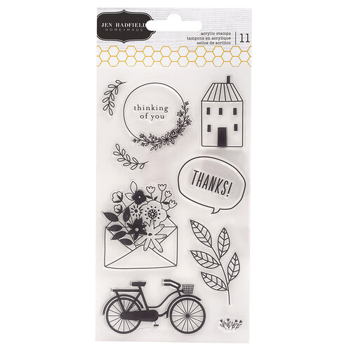 Pebbles - This Is Family Collection - Clear Acrylic Stamps