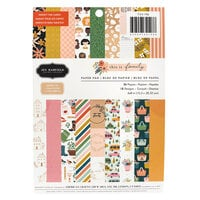 Pebbles - This Is Family Collection - 6 x 8 Paper Pad With Copper Foil Accents