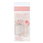 American Crafts - Pebbles - New Arrival Collection - Rub Ons - Girl