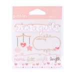 American Crafts - Pebbles - New Arrival Collection - Rub Ons - Baby Girl