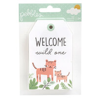 Pebbles - Peek-A-Boo You Collection - Tag Pad - Boy