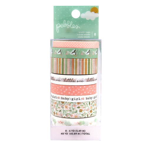 Pebbles - Peek-A-Boo You Collection - Washi Tape - Girl
