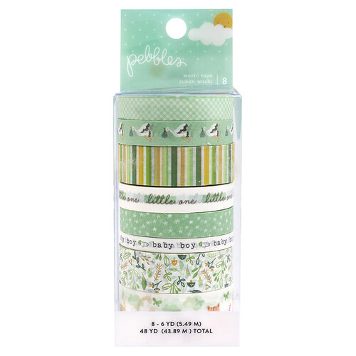Pebbles - Peek-A-Boo You Collection - Washi Tape - Boy