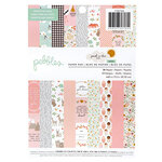 Pebbles - Peek-A-Boo You Collection - 6 x 8 Paper Pad - Girl
