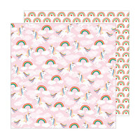Pebbles - Happy Cake Day Collection - 12 x 12 Double Sided Paper - Make A Wish