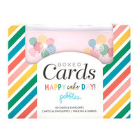 Pebbles - Happy Cake Day Collection - Boxed Cards Set
