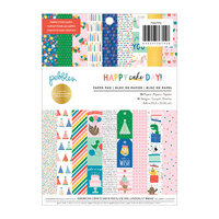 Pebbles - Happy Cake Day Collection - 6 x 8 Paper Pad with Foil Accents