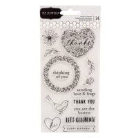 Jen Hadfield - Hey, Hello Collection - Clear Acrylic Stamps
