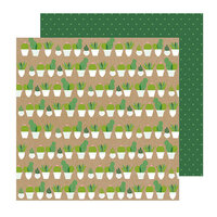 Pebbles - Lovely Moments Collection - 12 x 12 Double Sided Paper - Pokies