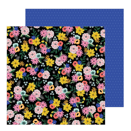 Jen Hadfield - Hey, Hello Collection - 12 x 12 Double Sided Paper - Twilight